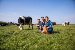 De drie boeren van de Delflandse Vleesmeesters