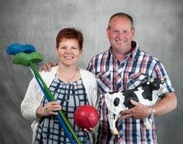 Boerin Wil en echtgenoot Quirien de Vette